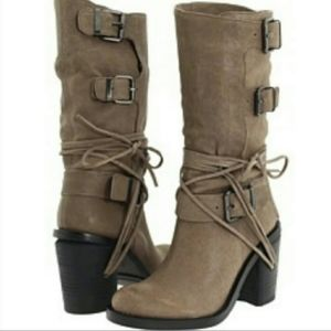 Vince Camuto - Skylas Taupe Boots